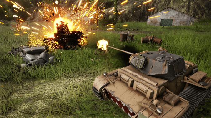 World of tanks: Mercenaries - juegos gratis PS4